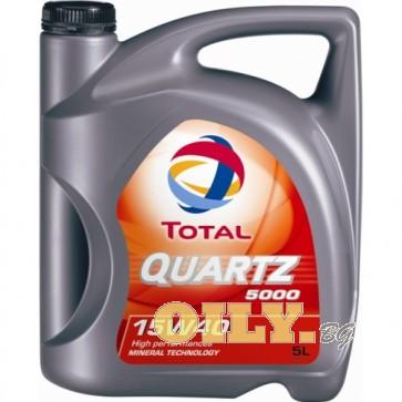 Total Quartz 5000 15W40 - 5 литра