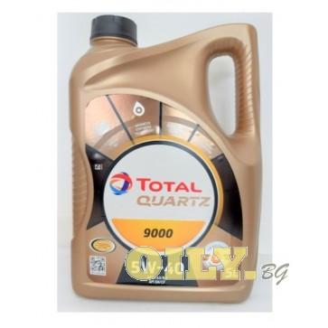 Total Quartz 9000 5W40 - 5 литра