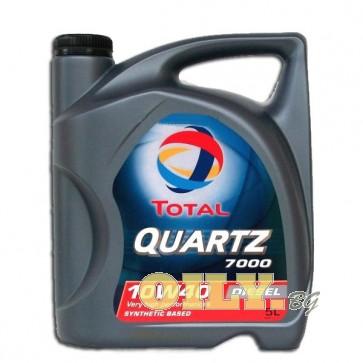 Total Quartz Diesel 7000 10W40 - 5 литра