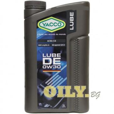 Yacco Lube DE 0W30 - 2 литра