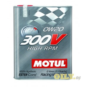 Motul 300V High RPM 0W20 - 2 литра