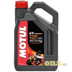 Motul 7100 15W50 4T - 4 литра