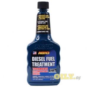 Abro Diesel Fuel Treatment - Добавка за почистване на дюзите при дизелово гориво - 0.354 литра