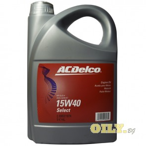 ACDelco Select 15W40 - 5 литра