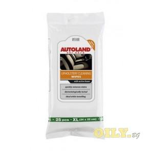 Autoland почистващи кърпи за текстилна тапицерия - 25 броя