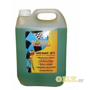 Bardahl течност за чистачки, готова за употреба, до -20°C - 5 литра