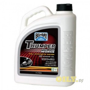 Bel-Ray Thumper Racing Works 10W50 4T - 4 литра