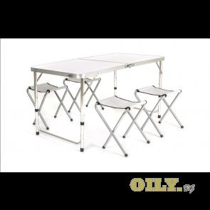 Сгъваема маса със столове за пикник - Bilbao
