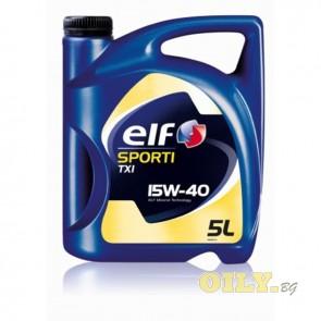 Elf Sporti TXI 15W40 - 5 литра