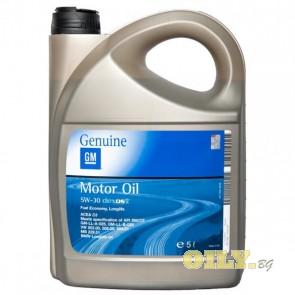 Моторно масло GM Dexos 2 5W30 - 5 литра