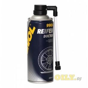 Спрей за помпене на гуми Mannol Reifen Doctor - 0.450 литра
