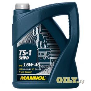 Mannol TS-1 SHPD 15W40 - 5 литра