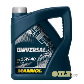 Mannol Universal 15W40 - 4 литра