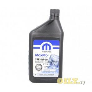 Mopar MaxPro Chrysler 0W20 - 68218950AB - 1 литър