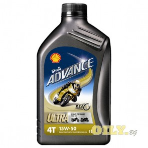 Shell Advance 4T Ultra 15W50 - 1 литър