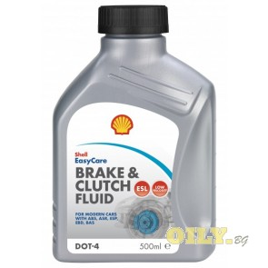 Shell Brake and Clutch Fluid DOT 4 - 0,500 литра