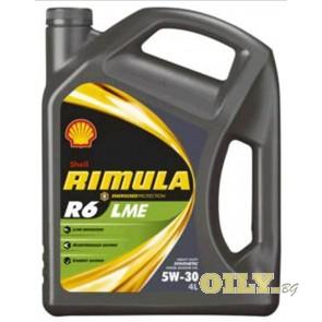Shell Rimula R6 LME 5W30 - 4 литра