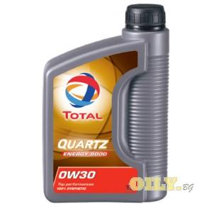 Total Quartz 9000 ENERGY 0W30 - 1 литър