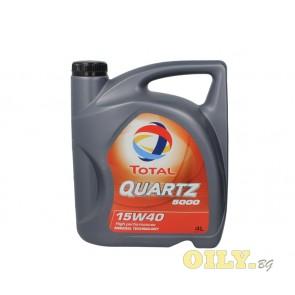 Total Quartz 5000 15W40 - 4 литра