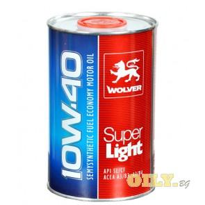 Моторно масло Wolver SuperLight 10W40 - 1 литър